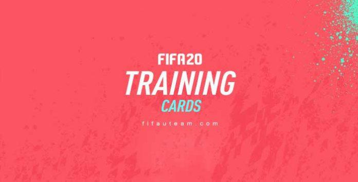 Cartas de Treino para FIFA 20 Ultimate Team
