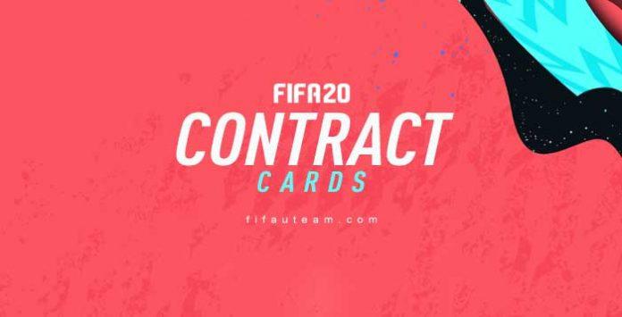 Contratos para FIFA 20 Ultimate Team