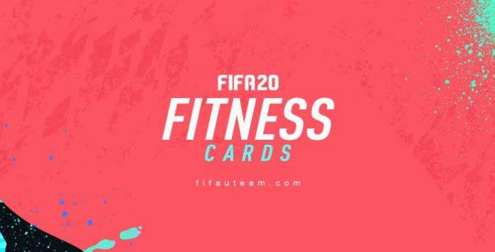 Cartas de Fitness para FIFA 20 Ultimate Team