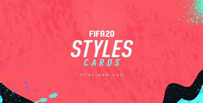 Cartas de Estilos de Química em FIFA 20