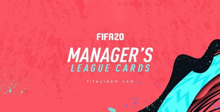 Cartas de Ligas de Manager para FIFA 20