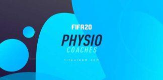 Guia de Cartas de Fisioterapeutas para FIFA 20 Ultimate Team