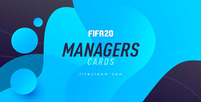 Managers para FIFA 20 Ultimate Team