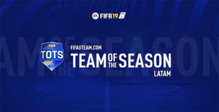 TOTS da América Latina para FIFA 19 Ultimate Team