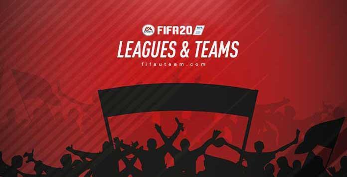 Ligas, Equipas e Seleções Nacionais de FIFA 20