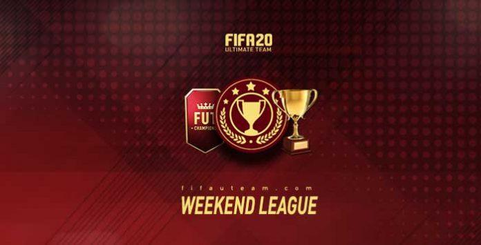 Calendário da Weekend League para FIFA 20
