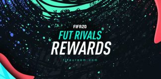 Premiação do FUT Rivals para FIFA 20 Ultimate Team