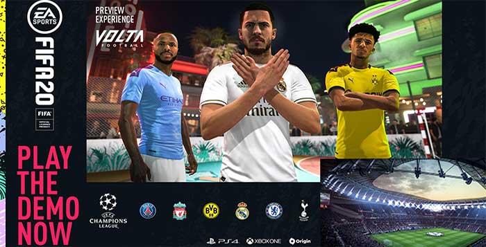 Demonstração de FIFA 20