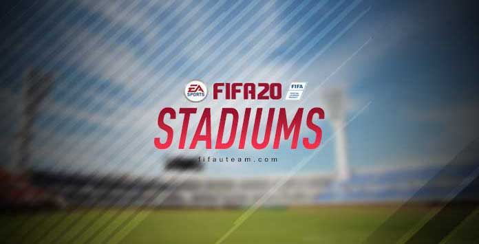 Todos os Estádios de FIFA 20