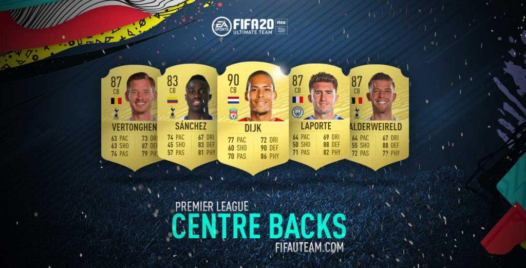 Melhores Defesas Centrais da Premier League em FIFA 20