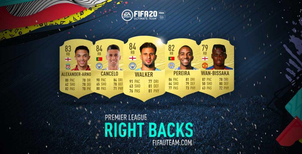 Melhores laterais direitos da Premier League em FIFA 20