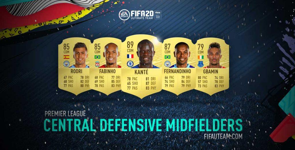 Melhores Médios Defensivos da Premier League em FIFA 20