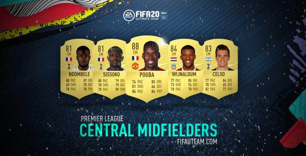 Melhores Médios Centro da Premier League em FIFA 20
