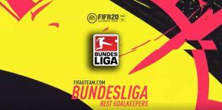 Guarda-Redes da Bundesliga para FIFA 20