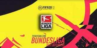 Defesas da Bundesliga para FIFA 20