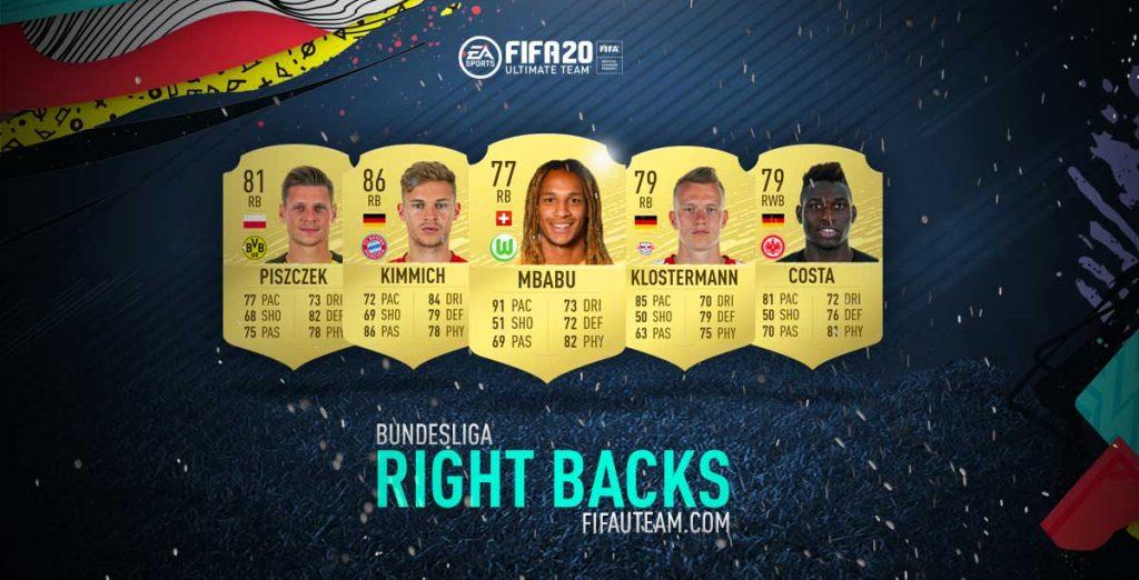 Defesas Direitos da Bundesliga em FIFA 20