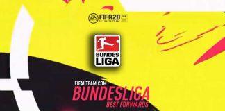 Avançados da Bundesliga para FIFA 20