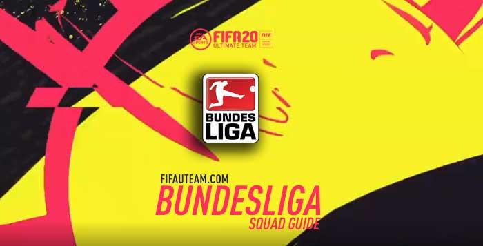 Guia da Equipa da Bundesliga para FIFA 20