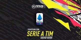 Guia da Equipa da Serie A para FIFA 20