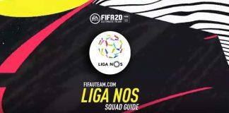 Guia da Equipa da Liga NOS para FIFA 20