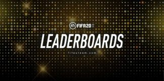 Placares de Líderes de FIFA 20 Ultimate Team