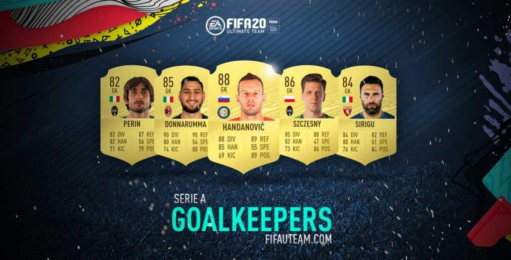 Melhores Guarda-Redes da Serie A em FIFA 20