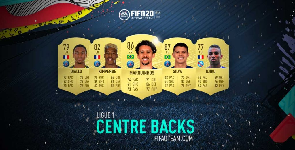 Melhores Defesas Centrais da Ligue 1 em FIFA 20