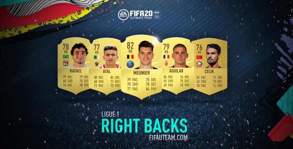 Melhores Defesas Direitos da Ligue 1 em FIFA 20
