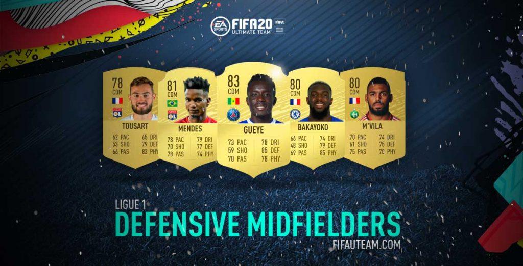 Melhores Médios Defensivos da Ligue 1 em FIFA 20