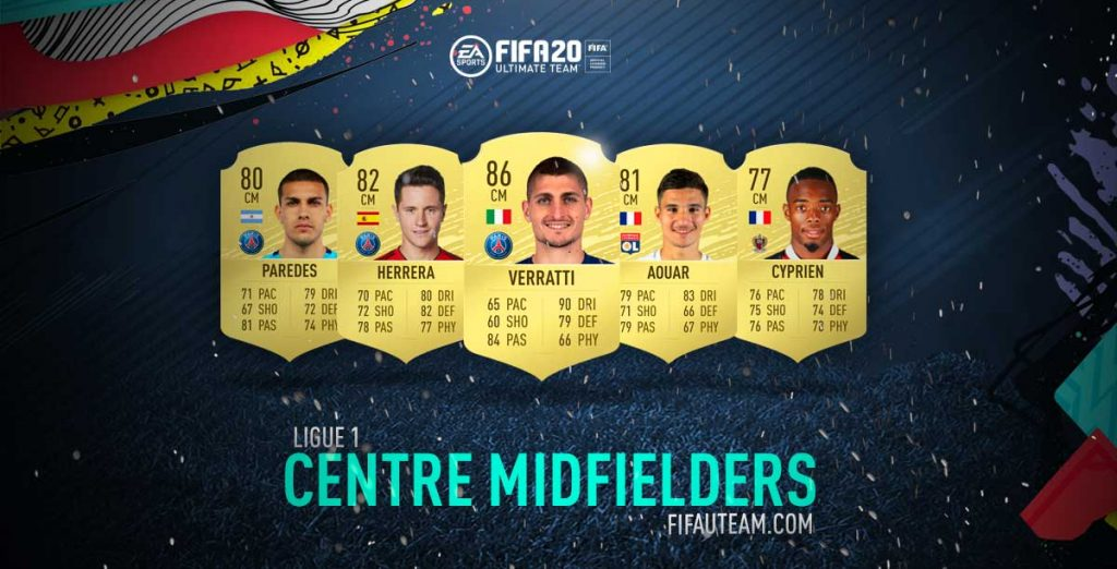 Melhores Médios Centro da Ligue 1 em FIFA 20