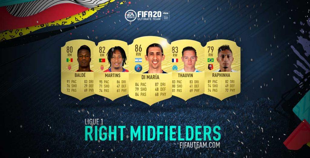 Melhores Médios Direitos da Ligue 1 em FIFA 20
