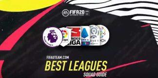 As Melhores Ligas para Jogar em FIFA 20 Ultimate Team