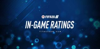 In-Game Ratings de FIFA 20 Ultimate Team