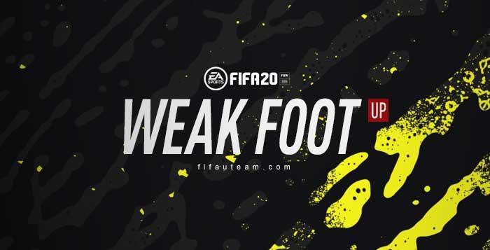 Lista dos Upgrades do Weak Foot para FIFA 20 Ultimate Team