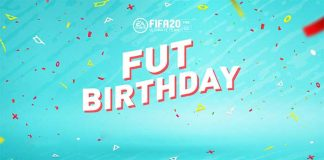 FUT Birthday para FIFA 20 Ultimate Team