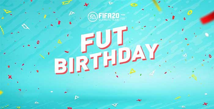 FUT Birthday para FIFA 20 Ultimate Team