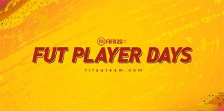 Evento FUT Player Days para FIFA 20 Ultimate Team