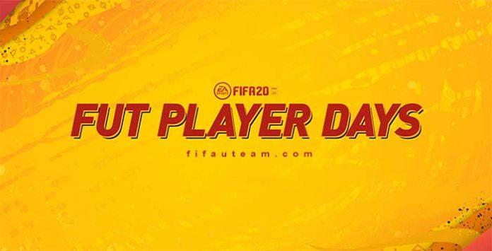 Evento FUT Player Days para FIFA 20 Ultimate Team