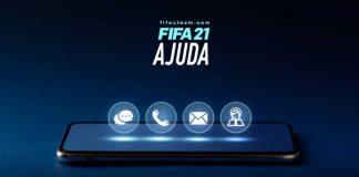Ajuda para FIFA 21 - Contactar a Equipa de Suporte