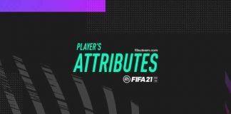 Atributos para FIFA 21