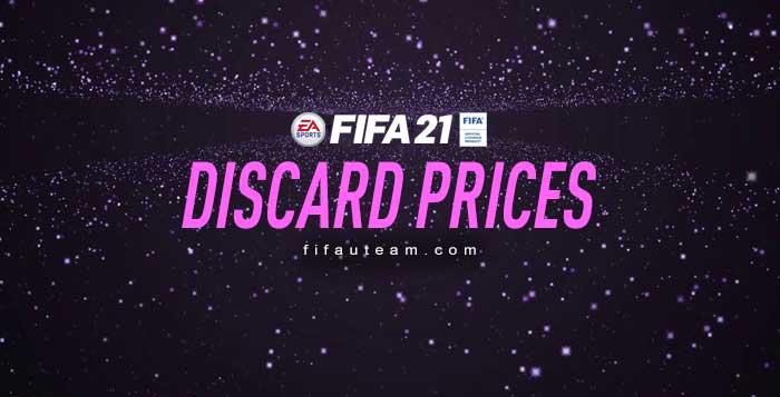 Preços de Venda Rápida das Cartas de FIFA 21 Ultimate Team