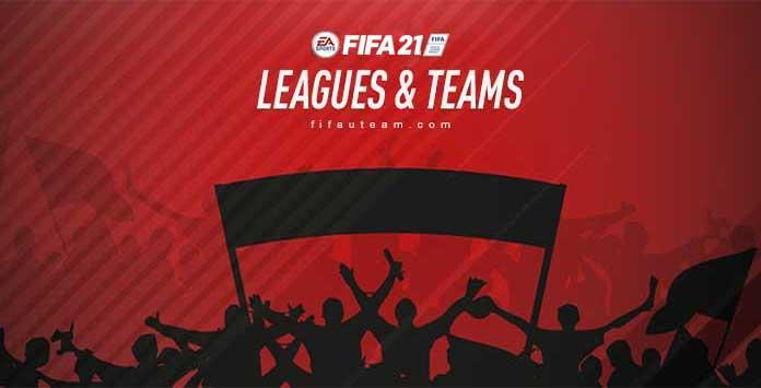 Ligas, Equipas e Seleções Nacionais de FIFA 21