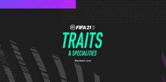 Características de Jogadores e Especialidades em FIFA 21