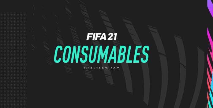 Consumíveis para FIFA 21