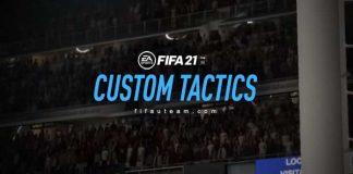 Táticas Personalizadas para FIFA 21