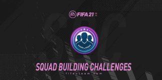 Desafios de Montagem de Elenco para FIFA 21