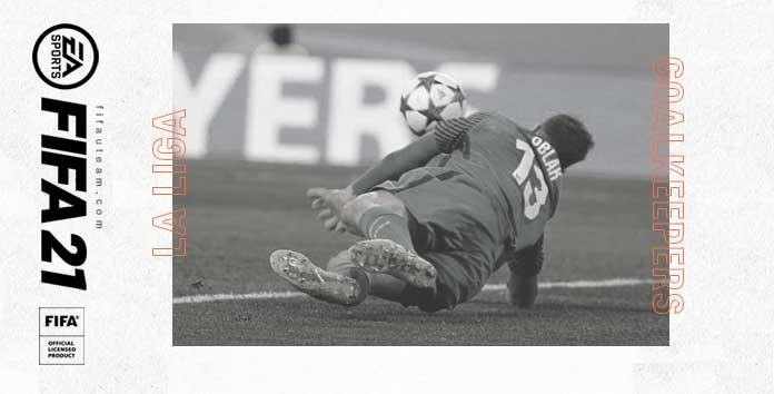 Guarda-Redes da LaLiga para FIFA 21