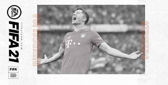 Avançados da Bundesliga para FIFA 21