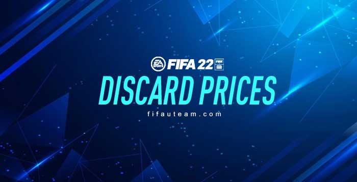 Preços de Descarte das Cartas de FIFA 22 Ultimate Team