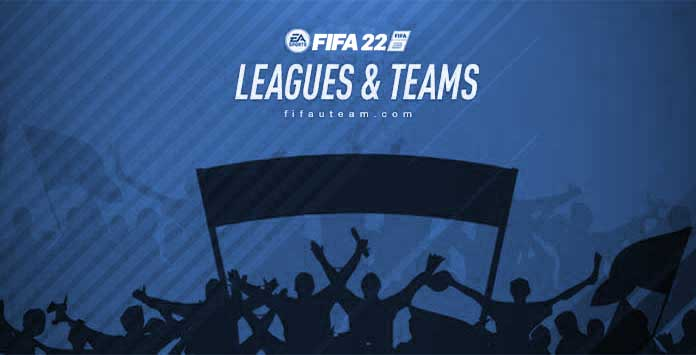 Ligas, Equipas e Seleções Nacionais de FIFA 22